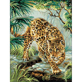 Owner Of The Jungle Counted Cross Stitch Kit-11.75