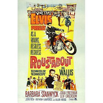 Dekksarbeideren Elvis Presley nederst i midten fra venstre Elvis Presley Joan Freeman 1964 film plakat Masterprint