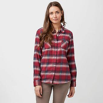 Red Brakeburn Women's Large Check Flanel Shirt