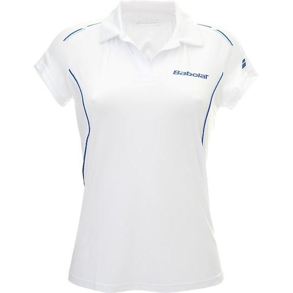 Babolat Polo Match Core Girls white 42S1467