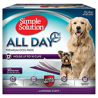 Simpel løsning alle dag Overkurs hund puder 50 ct 23