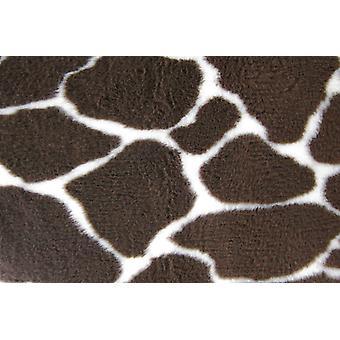 Skridsikre Vetbed giraf Print 91x61cm (36 x 24