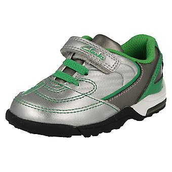 Boys Clarks Football Style Trainers Booter