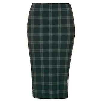 Black Watch Green Tartan Tube Skirt SK198-6