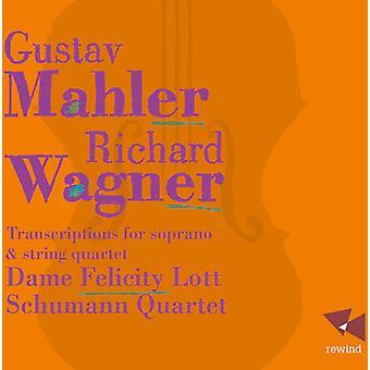 Mahler / Wagner - transskriptioner for sopran & Strygekvartet [CD] USA import