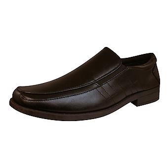 Brickers 2185 Mens Slip On Shoes / Loafers - Brown