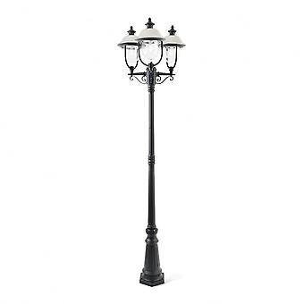 Konstsmide Parma Outdoor 3 Latern Lamp Post
