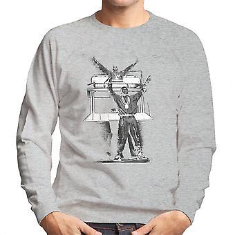 Eric B og Rakim Hammersmith Odeon 1987 menns Sweatshirt