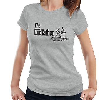 The Codfather Godfather Fishing Logo Women's T-Shirt