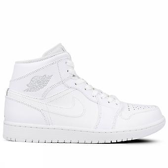 Nike Air Jordan 1 mid 554724 104 men's basketball shoes