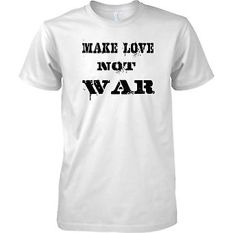 Älskar inte kriget - Anti krig uttalande - roliga fred - barn T Shirt