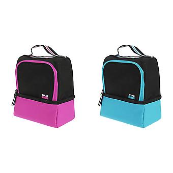 Polar Gear Active Twin Compartment Sandwich Cooler/Lunch Box