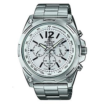 Casio Watches Efr-545sbd-7bver Edifice Silver Stainless Steel Chronograph Solar Men's Watch