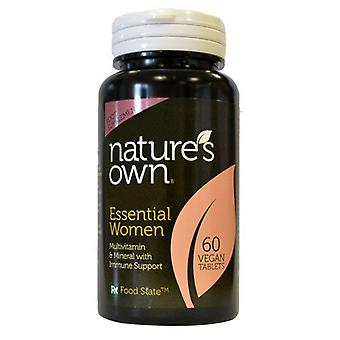 Natures Own Essential women (formerly called Ladies Gold MVM Formula designed for women aged 12-65) , 60 Tablets