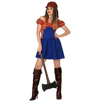 Women costumes  Woodcutter costume for ladies