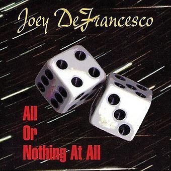 Joey Defrancesco - alt eller intet på alle [CD] USA import