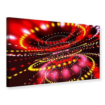 Canvas Print abstracte licht spel