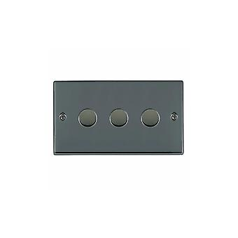 Hamilton Litestat Hartland sort nikkel 3g 400W 2-vejs lysdæmper BK