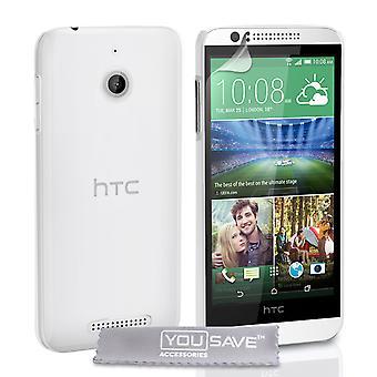 HTC Desire 510 Hard Case - kristallklart