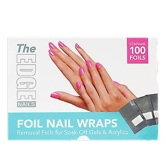 The Edge Nails Foil Nail Wraps (100 Foils)