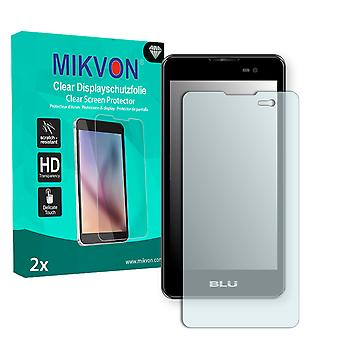 BLU Dash M Screen Protector - Mikvon Clear (Retail Package with accessories)