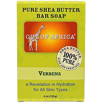 Out of Africa Pure Shea Butter Bar Soap Verbena 2 Bar Pack