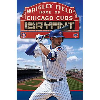 Chicago Cubs - Kris Bryant 2015 Poster Print