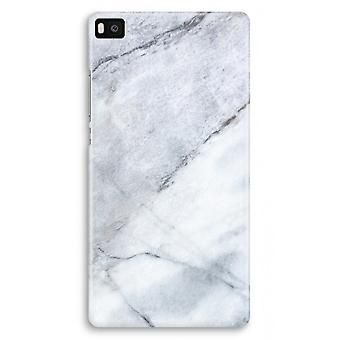 Huawei Ascend P8 Full Print Case - Marble white