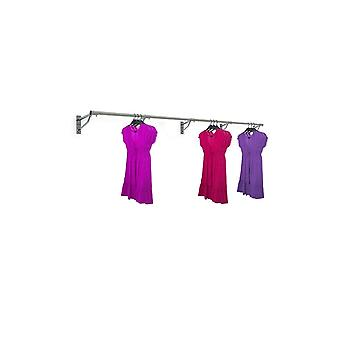 Wall Mounted Clothes Hanging Rail - 3660mm