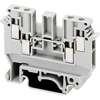 Two-level terminal block UDK 4 Phoenix Contact Grey Cont