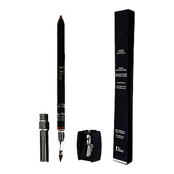 Dior Lipliner Pencil With Brush & Sharpener 0.04Oz New In Box [Choose A Shade]