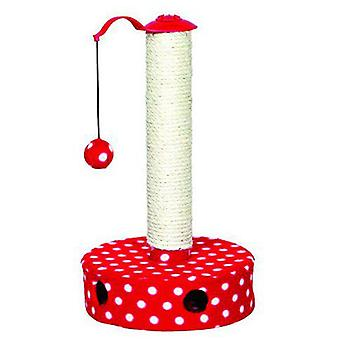 Trixie Red Cat Scratching Post 27x45 Cm. (Cats , Toys , Scratching Posts)
