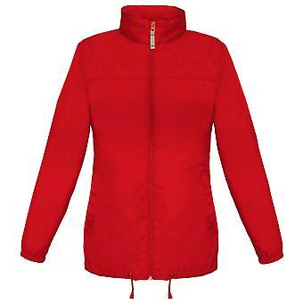 B&C Ladies Sirocco The Windbreaker showerproof foldaway Coat