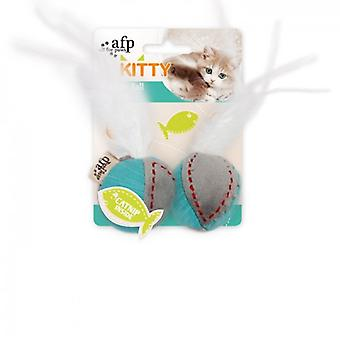 AFP Bolas De Plumas Kitty (Cats , Toys , Plush & Feather Toys)