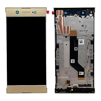 Sony display LCD complete unit with frame for Xperia XA1 ultra G3212 G3221 G3226 gold spare part