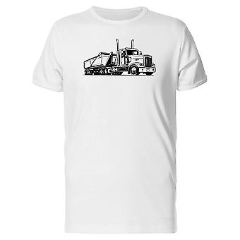 American Truck With Semi Trailer Tee Men's -Image by Shutterstock