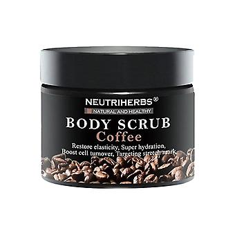 Coffee scrub geranium and rosewood