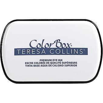 Colorbox Premium Dye Ink Pad By Teresa Collins-Beckett Blue