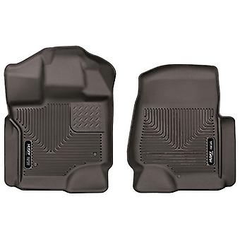 Husky Liners Front Floor Liners Fits 15-18 F150 SuperCrew/SuperCab
