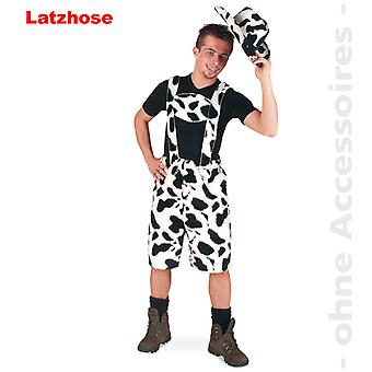 Cow pants costume cow patch men's cow Oktoberfest JGA mens costume