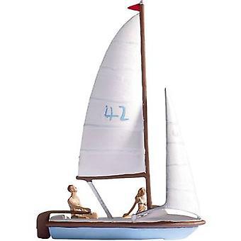 NOCH 16824 H0 zeilboot geassembleerd