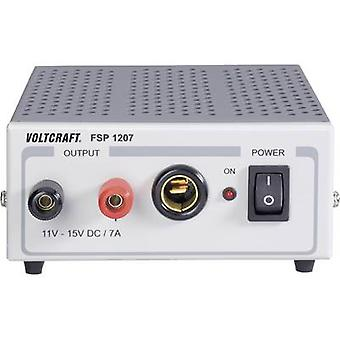 VOLTCRAFT FSP 1207 Bench PSU (fixed voltage) 11 - 15 Vdc 7 A 105 W No. of outputs 1 x