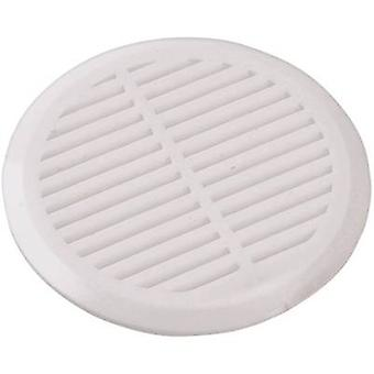 Wallair N35838 Vent grille 4-piece set Plastic Suitable for pipe diameter: 50 mm