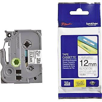 Labelling tape (metallic) Brother TZe-M951 Tape colour: Silver (matt) Font colour: Black 24 mm 8 m