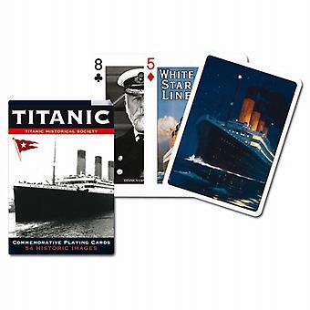 Titanic sæt af 52 spillekort + jokere