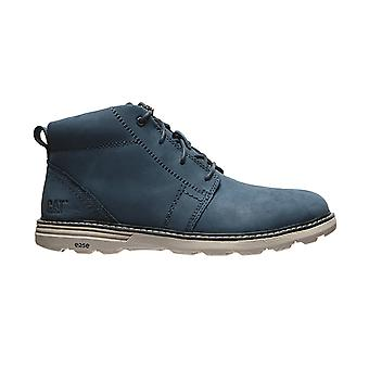 CATERPILLAR real leather lace-up shoes Trey shoes blue