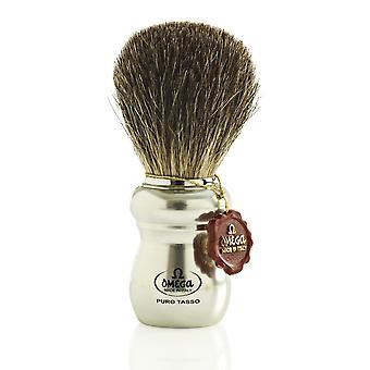 Omega 6653 Pure Badger Hair Shaving Brush