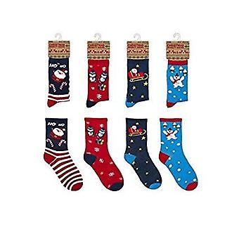 Las señoras novedad fiesta Navidad regalo de Navidad calcetines tamaño 4/7