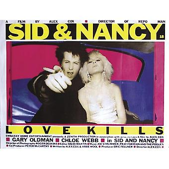 SID & Nancy poster British Quad (QF)