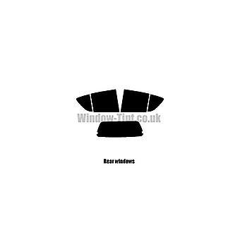 Pre cut window tint - Vauxhall Agila - 2008 to present (B) - Rear windows